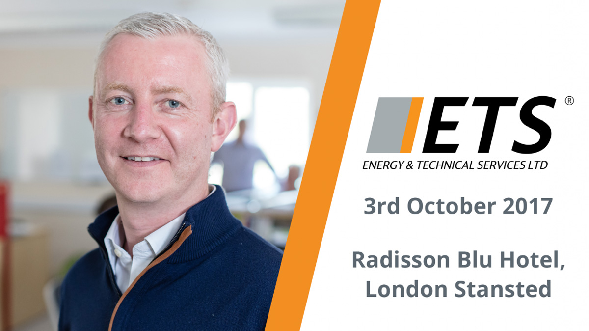 ETS to speak at the Energy Management Summit