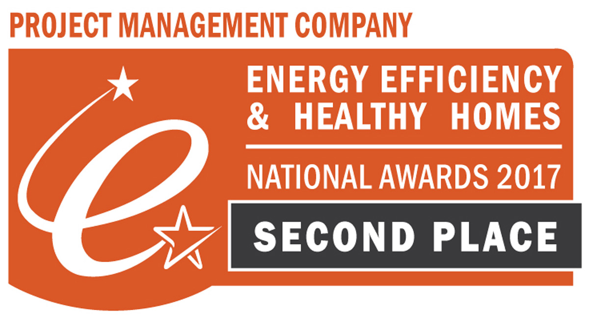 ETS Wins Second Place at the National Energy Efficiency and Healthy Homes Awards 2017