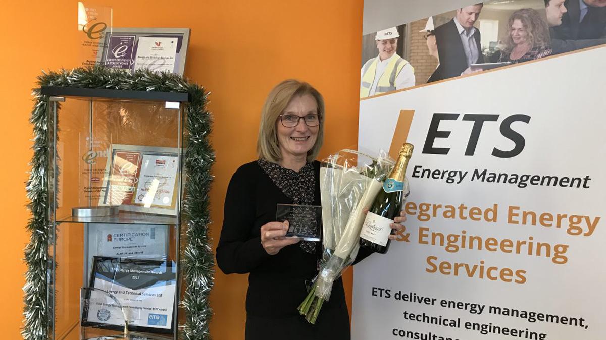 ETS Celebrates Ann Angelinetta's 10 Year Work Anniversary
