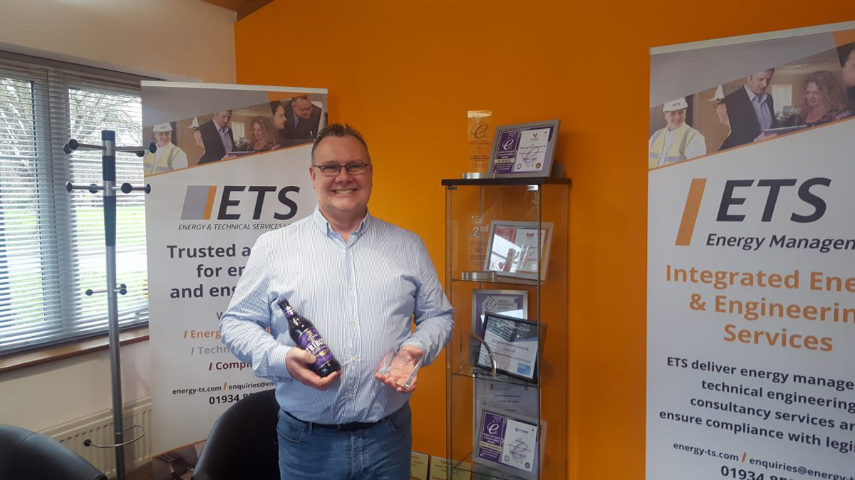 ETS Celebrates Kevin Wiseman's 10-Year Work Anniversary