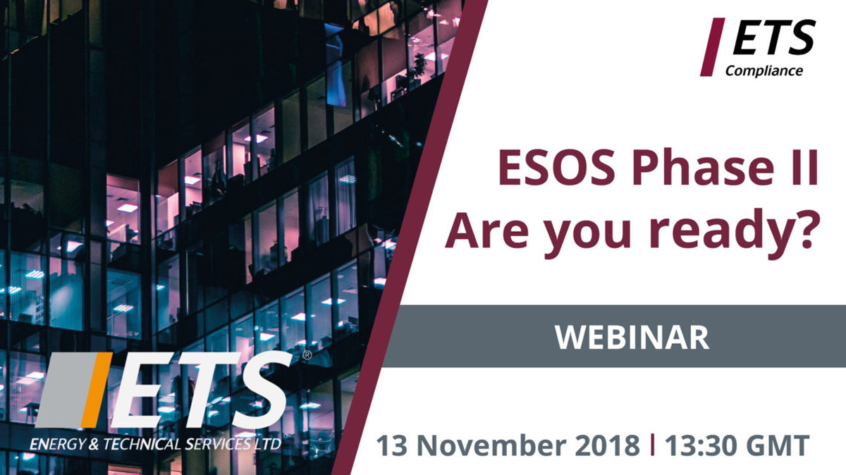 ESOS Phase II – Routes to Compliance Webinar