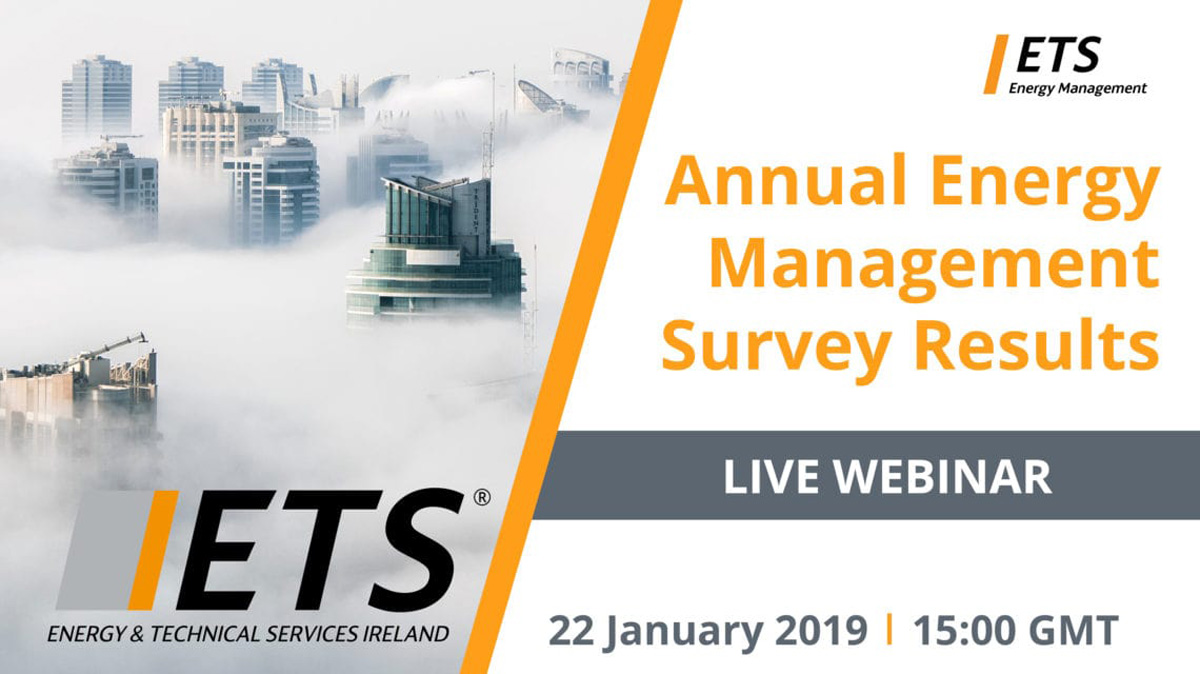 ETS Ireland Annual Energy Management Survey Results