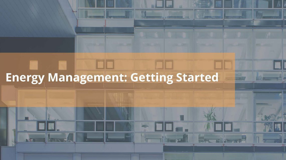 Energy Management: Getting Started