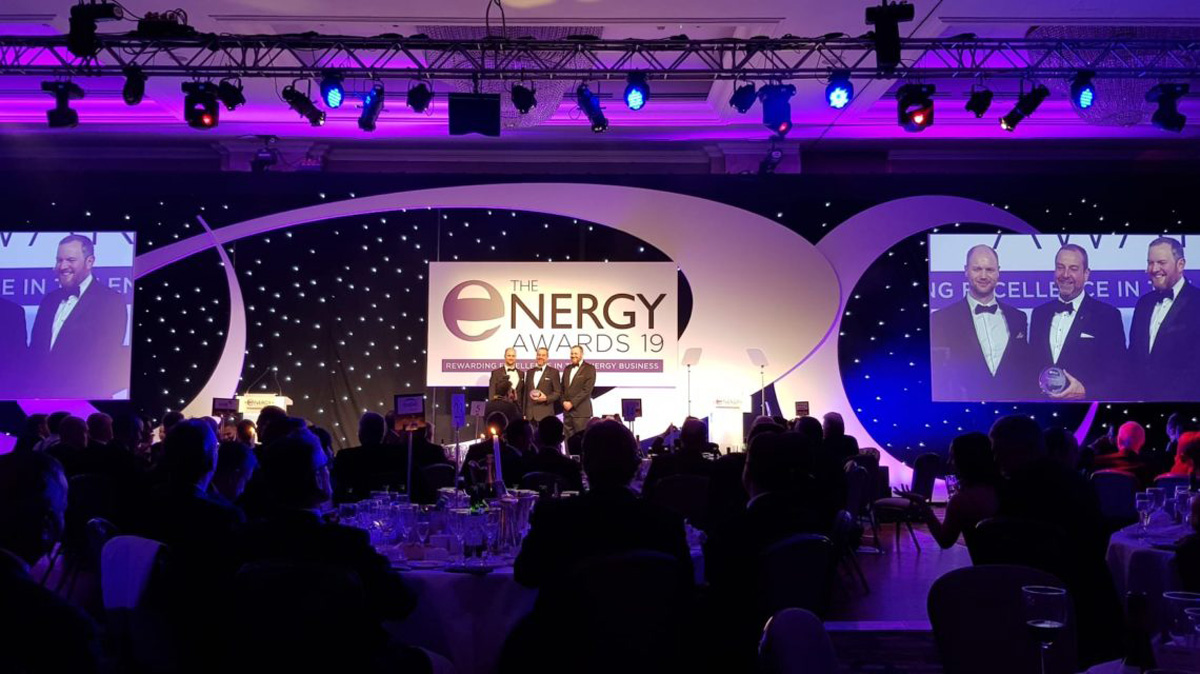 ETS Win at The Energy Awards 2019